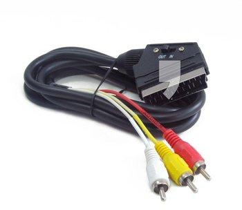 Kabel Euro - RCA GEMBIRD CCV-519-001, 1.8 m-Gembird