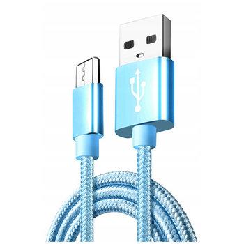 Kabel Micro-USB do szybkiego ładowania QUICK CHARGE 3.0 - Niebieski.-EtuiStudio