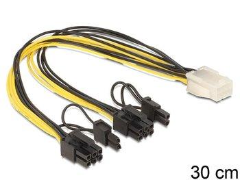 Kabel PCI Express 6 pin - 2 x PCI Express 8 pin Delock, 0.3 m-Delock