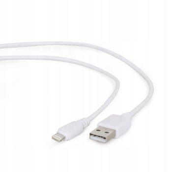 Kabel USB-A 2.0 M/Apple 8-Pin M GEMBIRD CC-USB2-AMLM-W-1M, 1 m-Gembird