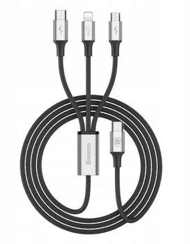 Kabel USB-C 2.0/Lightning/microUSB/USB-C BASEUS CAMLT-SUS1, 1.2 m-Baseus