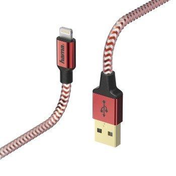 Kabel USB-Lightning iPhone, iPad, iPod HAMA Prime, 1.5 m-Hama