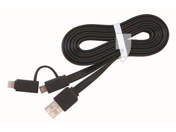 Kabel USB - Lightning - micro USB GEMBIRD, 1 m-Gembird