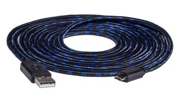 Kabel USB - microUSB do kontrolera PS4 SNAKEBYTE Charge:Cable 3m-Snakebyte