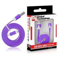 Kabel USB - microUSB GLOBAL TECHNOLOGY, 1 m