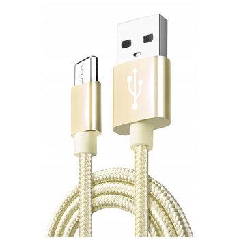 Kabel USB Typ-C do szybkiego ładowania QUICK CHARGE 3.0 - Złoty.-EtuiStudio