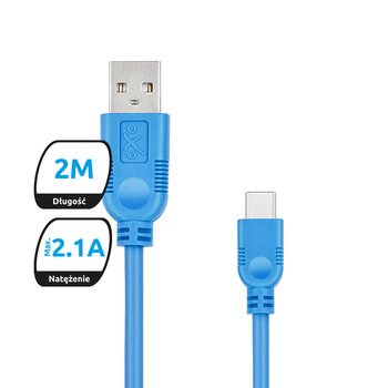 Kabel USB - USB-C EXC MOBILE Whippy, 2 m-eXc mobile
