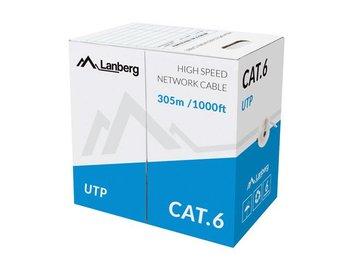 Kabel UTP 6 LANBERG LCU6-10CC-0305-S, 305 m-LANBERG