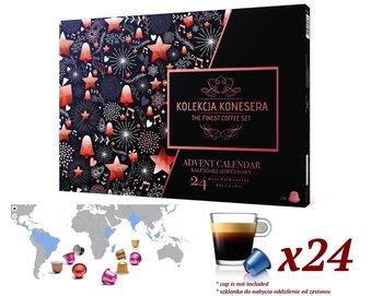 Kalendarz adwentowy z kawą Nespresso w kapsułkach Nespresso Lavazza-Poznajsmaki.pl