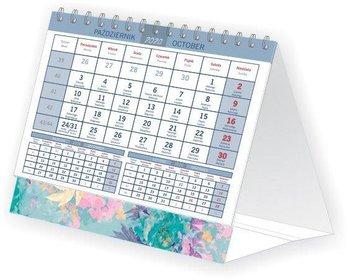 Kalendarz biurkowy 2020, Kwiaty