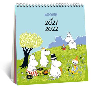 Kalendarz biurkowy, szkolny, Muminki 2021/2022