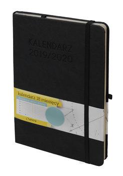 Kalendarz książkowy 2019/2020, czarny