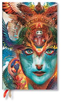 Kalendarz książkowy 2019/2020, Dharma Dragon Maxi Vertical
