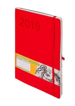 Kalendarz książkowy 2019, Impresja, czerwony
