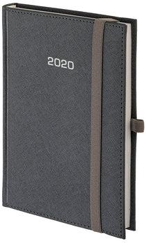 Kalendarz książkowy 2020, A4, Cross, srebrny