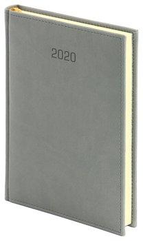Kalendarz książkowy 2020, A4, Vivella, szary