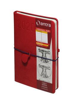Kalendarz książkowy 2020, A5, Renesans, czerwony