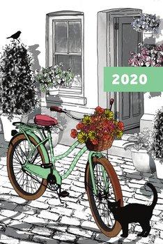 Kalendarz książkowy 2020, A5, Summerday