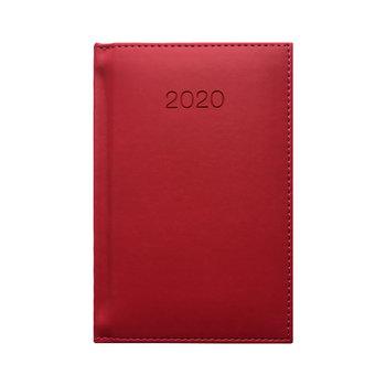 Kalendarz książkowy 2020, A6, amarantowy