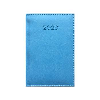 Kalendarz książkowy 2020, A6, jasnoniebieski