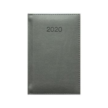 Kalendarz książkowy 2020, A6, szary