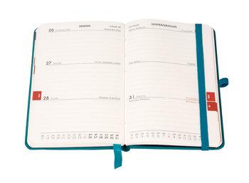 Kalendarz książkowy 2020, A6, TDW Formalizm, turkusowy
