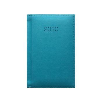 Kalendarz książkowy 2020, A6, turkusowy