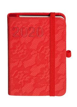 Kalendarz książkowy 2020, A7, TDW Awangarda, czerwony