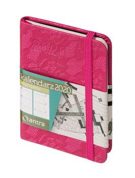 Kalendarz książkowy 2020, Awangarda, jasnoróżowy
