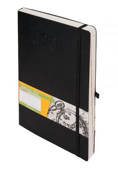 Kalendarz książkowy 2020, B5, TDW, czarny