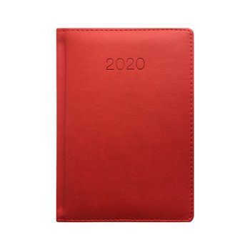 Kalendarz książkowy 2020, B6, czerwony