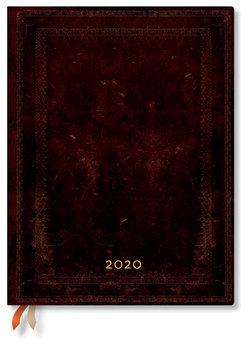 Kalendarz książkowy 2020, Black Moroccan Bold
