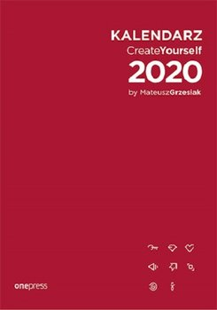 Kalendarz książkowy 2020. Create Yourself by Mateusz Grzesiak