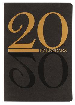 Kalendarz książkowy 2020, czarno-złoty