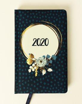 Kalendarz książkowy 2020, Flower Power, Kwiaty