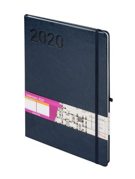 Kalendarz książkowy 2020, Formalizm, A4, granatowy