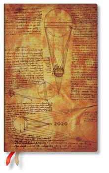 Kalendarz książkowy 2020, Maxi Horizontal, Leonardo Sun & Moonlight, Paperblanks