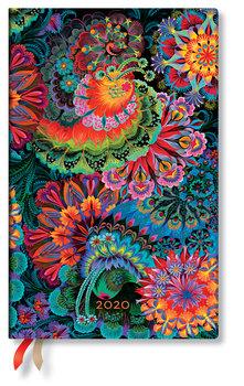 Kalendarz książkowy 2020, Maxi Vertical, Moonlight, Paperblanks