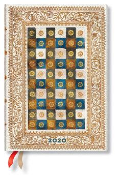 Kalendarz książkowy 2020, Midi Horizontal, Aureo, Paperblanks