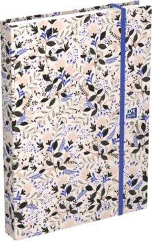 Kalendarz książkowy 2021, A5, Oxford Flowers, mix wzorów