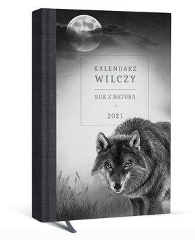 Kalendarz książkowy 2021, A5, Rok z naturą Wilczy