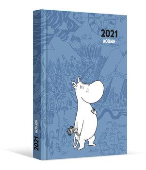 Kalendarz książkowy 2021, Muminki