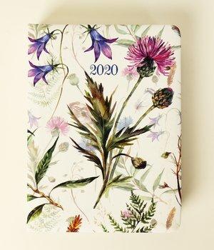 Kalendarz książkowy, Flower Power - Chabry