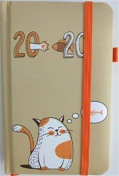 Kalendarz książkowy, kieszonkowy 2020, Kot