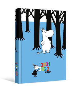 Kalendarz książkowy szkolny Muminki 2021/2022