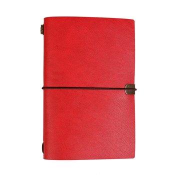 Kalendarz luksusowy 2021, B6, DIL, czerwony