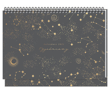 Kalendarz na biurko 2021, Kosmos