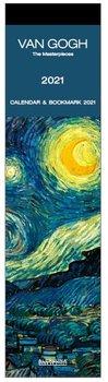 Kalendarz ścienny, zakładkowy, Van Gogh, 2021