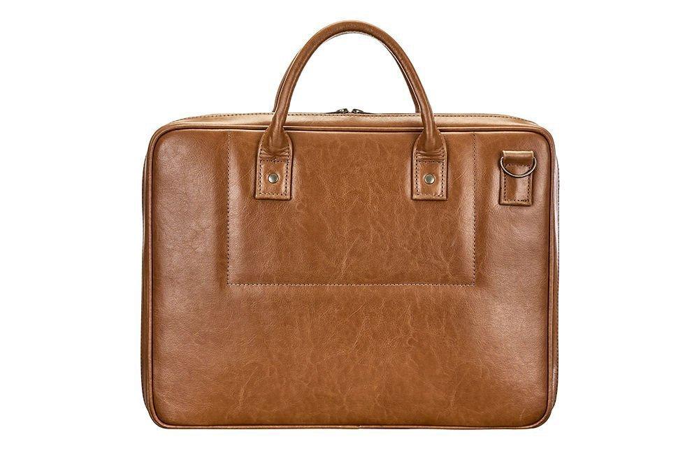 Kamer, torba na laptop, brązowa