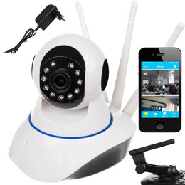Kamera Panoramiczna WiFi Obrotowa Smart Monitoring ISO TRADE